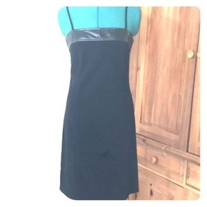 Form Fitting Leather Suede Looking Dress | Boho
